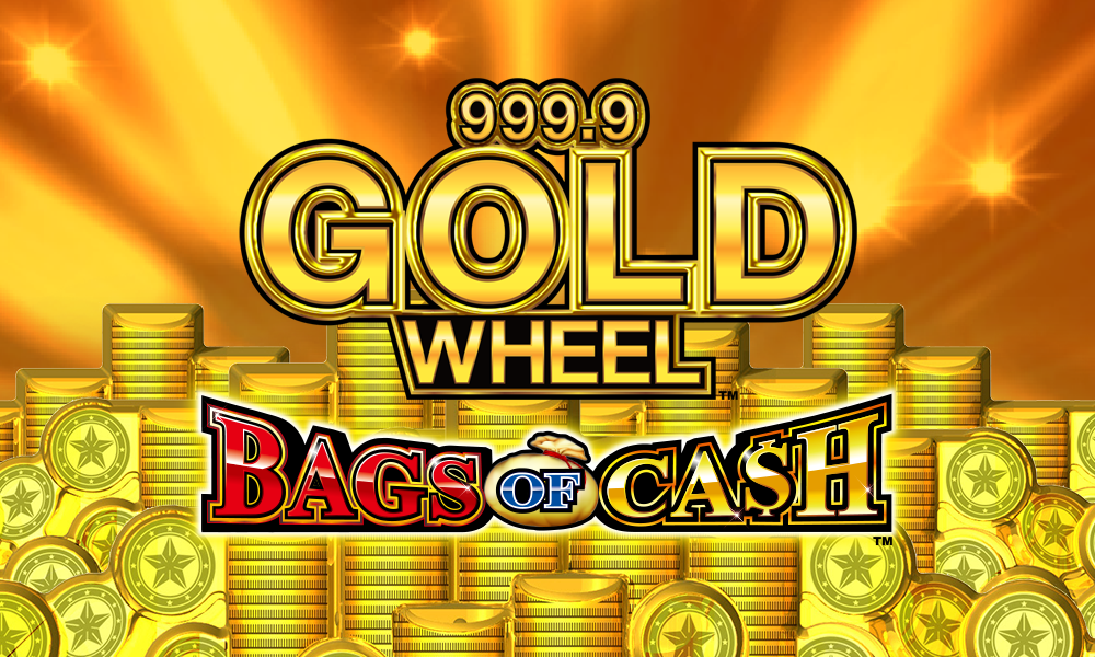 999.9 Gold Wheel – Bags of Cash